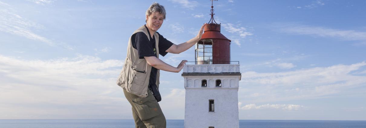 Gabi mit Leuchtturm