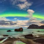 Nordlicht auf den Lofoten